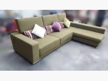 [95成新] A111708綠色L型布沙發組L型沙發近乎全新