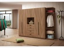 [全新] 亞伯斯8.5尺組合衣櫃衣櫃/衣櫥全新