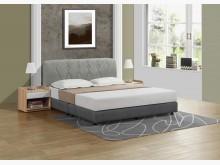 [全新] 神達貓抓皮6尺床片+床底雙人床架全新
