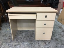 [全新] 全新白橡色3.5尺三抽電腦書桌電腦桌/椅全新