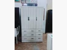 [全新] 四尺白色衣櫃120*56*200衣櫃/衣櫥全新