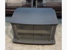 [9成新] 黑色電視櫃 矮櫃 平面櫃 高低櫃電視櫃無破損有使用痕跡