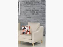 [全新] 沃特斯單人貓抓皮沙發$7100單人沙發全新