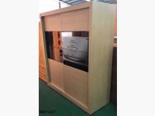 [9成新] 88071107橡木六尺推門衣櫃衣櫃/衣櫥無破損有使用痕跡