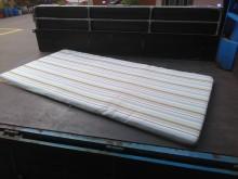 [9成新] 連欣二手傢俱-3尺單人軟墊直藍單人床墊無破損有使用痕跡