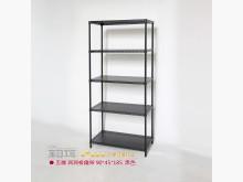 [全新] 黑色五層鐵架90*45*185其它家具全新