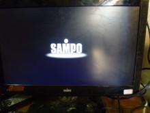 [8成新] 聲寶22吋LED色彩鮮艷畫質佳電視有輕微破損