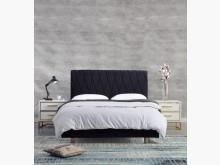[全新] 箱根黑色5尺床台雙人床架全新