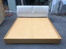 非凡二手家具 六尺布面床架雙人床架無破損有使用痕跡