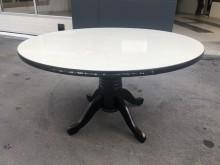 非凡二手家具 實木4.5尺圓餐桌其它桌椅無破損有使用痕跡