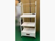 白色電器架 收納架 置物櫃其它櫥櫃無破損有使用痕跡