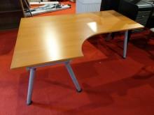 IKEA高低可調式轉角工作桌書桌/椅無破損有使用痕跡