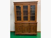 [95成新] 柚木書櫃 原木高低櫃 展示櫃 商書櫃/書架近乎全新