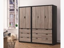 [全新] 漢諾威古橡色7尺衣櫃$27600衣櫃/衣櫥全新