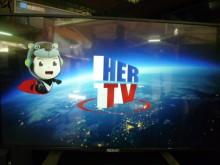 [8成新] 李太太禾聯55吋LED智慧型聯網電視有輕微破損
