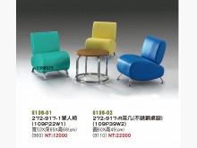 [全新] 高上{全新}272-917單人椅單人沙發全新