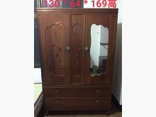 古早實木衣櫃衣櫃/衣櫥無破損有使用痕跡