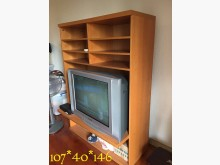 實用電視櫃電視櫃無破損有使用痕跡