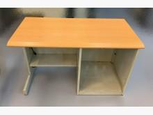 [7成新及以下] C42981*木紋鐵書桌*書桌/椅有明顯破損