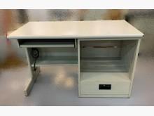 [7成新及以下] C42982*白面一抽電腦桌*電腦桌/椅有明顯破損