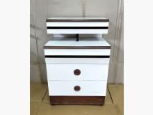[7成新及以下] 二手白色美耐板床頭櫃 桃園區免運床頭櫃有明顯破損