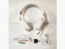 [9成新] 二手白色耳罩式耳機 有線高音質其他無破損有使用痕跡