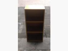 [8成新] X50416BJJ 原木色三層櫃書櫃/書架有輕微破損