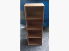 [8成新] X50416CEJ 原木色四層櫃書櫃/書架有輕微破損