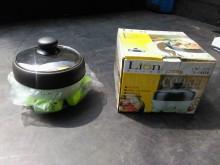 連欣二手家電-獅子心二合一火烤爐電火鍋烤盤全新