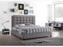 [全新] 莫札特5尺灰布雙人床雙人床架全新