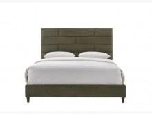 華格納5尺深青布雙人床雙人床架全新