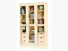 [全新] 三門白橡木4尺書櫃 桃園區免運費書櫃/書架全新