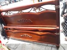 00037歐式6尺組合床雙人床架無破損有使用痕跡