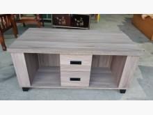 [全新] 工廠出清品木心板二抽二椅大茶几茶几全新