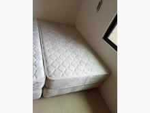 [8成新] 3尺半德泰雙人床組單人床墊有輕微破損