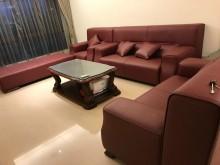 [95成新] 豪華紅沙發組1+2+3+大小茶几多件沙發組近乎全新