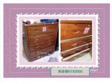 [8成新] 【綠舍】原木櫥櫃☆實木衣櫃-急售其它家具有輕微破損