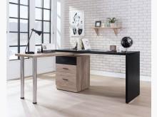 [全新] 恩狄古橡色旋轉L型書桌$9900書桌/椅全新