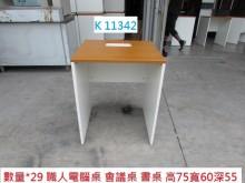 [8成新] K11342 電腦桌 書桌書桌/椅有輕微破損
