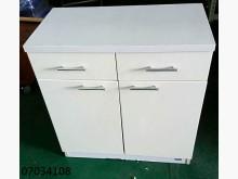 [9成新] 07034108白色餐櫃碗盤櫥櫃無破損有使用痕跡