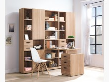 [全新] 若拉伸縮h型大書櫥書桌25200書桌/椅全新