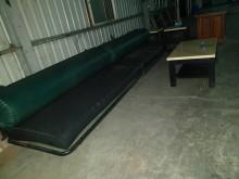 00195-1+2+3型長沙發多件沙發組無破損有使用痕跡