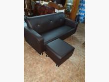 00354-L型皮沙發(咖啡色)L型沙發全新