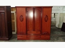 00361-7尺中式3門衣櫃衣櫃/衣櫥無破損有使用痕跡