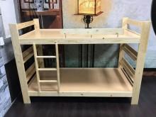 大慶二手家具 新品實木兒童床組單人床架全新
