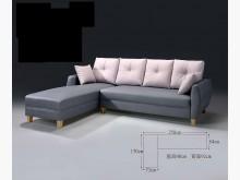 大慶二手家具 L型暗灰貓抓皮沙發L型沙發全新
