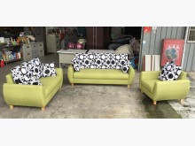 [9成新] 大慶二手家具 青綠色貓抓皮沙發多件沙發組無破損有使用痕跡