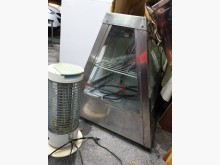 00371-白鐵電熱玻璃保溫櫃烤箱無破損有使用痕跡