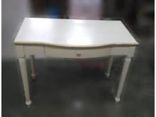 [8成新] B0724AHJJ 白色書桌書桌/椅有輕微破損