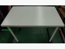 二手/中古 白色餐桌餐桌無破損有使用痕跡